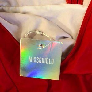 Missguided Swim - Brand new Red bikini